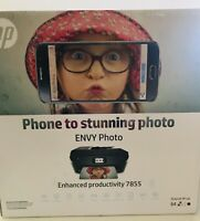 HP ENVY Photo 7855 All-in-One Printer with Wireless Printing