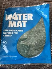 Water Mat - Keep Plants Watered For A Week BNIB Pack Of 2 Houseplants