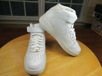 NIKE Air Force 1 Mid (315123-111) White 3X Men's Sneakers SIZE 8