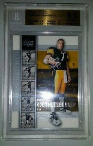 Ben Roethlisberger 2004 Upper Deck Premiere #2 Rookie Card rC BGS 9.5 Gem QTY