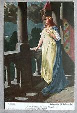 Carte postale vintage AK Richard Wagner LOHENGRIN II.Aufz. À 1917,Wagianer,Pour