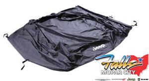 2020-2021 Jeep Gladiator Black Water Resistant Cab Cover New Mopar OEM