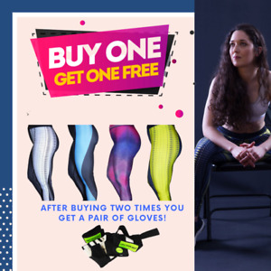 Gym Workout Leggings - BUY ONE GET ONE FREE