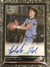 2018 Lamelo Ball Leaf Ultimate Draft '92 Black Gold Auto Silver Spectrum /15