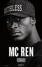 Straight Outta Compton Movie Poster (24x36) - Dr Dre, MC Ren, Ice Cube, NWA v7