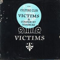"CULTURE CLUB victims/colour by numbers VS 641 poster bag uk virgin 7"" PS EX/EX"