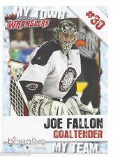 2011-12 Las Vegas Wranglers Joe Fallon (Worcester Railers)