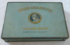 Antique OMAR CIGARETTES Turkish Blend Tin