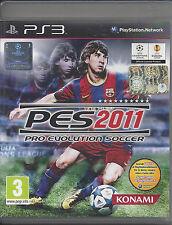Playstation Ps3 gioco **PES 2011 PRO EVOLUTION SOCCER** Come Nuovo Usato