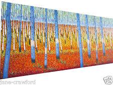 "59""   Art  Painting bush scrub Australia  orginal  COA by jane red aboriginal"