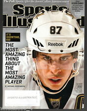 2013 Sports Illustrated Pittsburgh Penguins Sidney Crosby Subscription Iss. Exc.