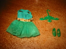 Dawn doll Outfit, 3 Piece, #8113 Green Fling in very Good Condition