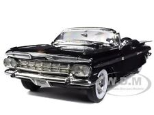 1959 CHEVROLET IMPALA BLACK 1/18 LTD TO 600PC WORLDWIDE BY ROAD SIGNATURE 82118