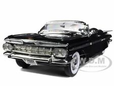 1959 CHEVROLET IMPALA BLACK 1/18 LTD TO 600PC WORLDWIDE BY ROAD SIGNATURE 82118