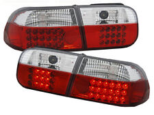 LED REAR TAIL LIGHTS LDHO07 HONDA CIVIC COUPE SALOON 1991 1992 1993 1994 1995