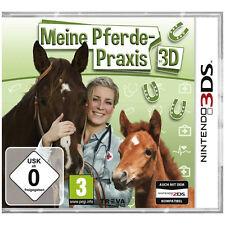 Nintendo 3DS Dual Screen Spiel * Meine Pferde-Tierarztpraxis * Pferd Pony Fohlen