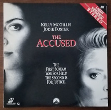 LASERDISC Movie: THE ACCUSED - Jodie Foster, Kelly McGillis - Collectible