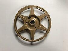 Single Metal Super 8mm Film Reel - 200 Foot / Compco / Gold