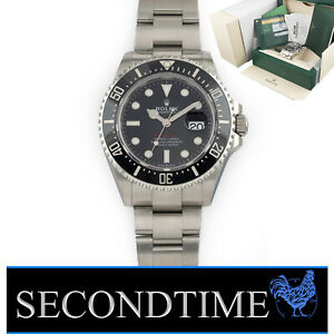 Rolex Oyster Professional Sea-Dweller 43mm Red 126600 Stainless