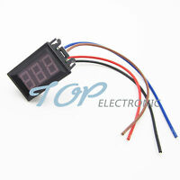 NEW Green DC 0 To 10A LED Panel Meter Mini Digital Ammeter