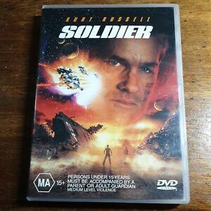 Soldier DVD Kurt Russel R4 LIKE NEW FREE POST