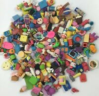 Eraser Collection Lot Over 200 Erasers 3.5 Pounds People Animal Food Sports   B2