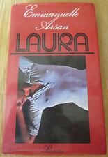 Erotik Roman Buch LAURA von EMMANEULLE ARSAN Hardcover, Buchclubausgabe