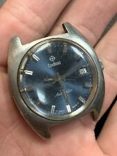 VINTAGE ZODIAC AUTOMATIC SWISS MENS WATCH PARTS OR REPAIR