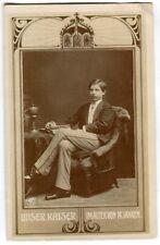 Ak Unser Kaiser im Alter von 14 Jahren NPG 1904