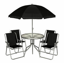Up to 4 Seats Table & Chair Sets with 6 Pieces Garden & Patio Furniture Sets