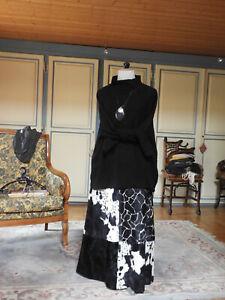 Collector !! Unique jupe Kenzo, imprimé animal, toucher fourrure!