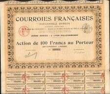 COURROIES FRANÇAISES - Indéchirable GRIMSON (LYON) (N)
