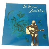 Sandy Denny - The Original - Vinyl LP UK 1st Press 1991 Her 1st Recordings