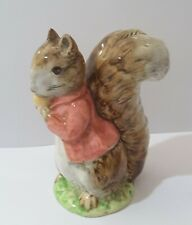 BESWICK BEATRIX POTTER TIMMY TIPTOES figurine gold oval back stamp