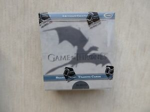 Game of Thrones season three trading card Hobby box sealed / 2 autographs