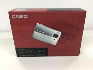 Casio Exilim EX-V7 SR 7.2MP Digital Camera - Silver w/ Accessories #452