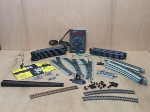 Bachman HO E-Z Track Train Track Lot 12 Curved Straight Power Pack LOTS MORE