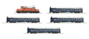ROCO 61469 H0 Digital/Sound Set Electric Locomotive Class 1020 + 4 Sleeping Cars