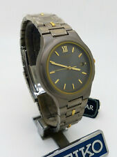Pulsar PXD 023 SEIKO Titanium Quartz Sapphire Glass Wristwatch New