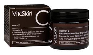 Vitaskin Vit C Anti-Pollution Glow Day Cream Vegan Kiwi Seed Sea Buckthorn 60ml