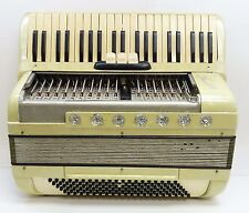 Vintage Scandalli 3 Switch 274/161 Mother Pearl 120 Key Accordion - AS-IS