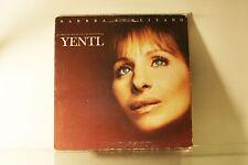 YENTL - SOUNDTRACK - BARBRA STREISAND - COLUMBIA 1983 LP VINYL RECORD -E