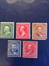 us stamps Unused Scott 279-279B-280-281-282