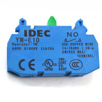 IDEC YW-E10 Contact Block 1NO for CW & YW Selector Switch New