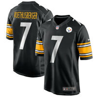 New 2020 NFL Nike Pittsburgh Steelers Ben Roethlisberger #7 Game Edition Jersey