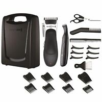 Remington Men Stylist Hair Clipper Set 25 Piece Shaver Trimmer Detail Kit, HC366