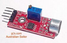 Sound Microphone Sensor Detection Module For Arduino Electronics Project