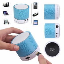 LED Portable Mini Bluetooth Speaker Wireless Super Bass With TF USB FM Radio