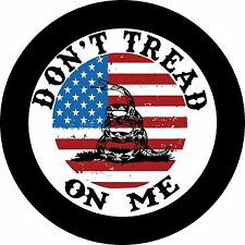 Don't Tread On Me America Jeep Wrangler Liberty RV Trailer Spare Tire Cover