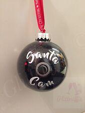 x4 Santa Cam Camera Vinyl Decal Stickers For DIY Christmas Bauble Decoration